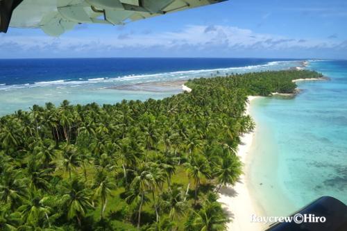 マーシャル諸島ミリ環礁