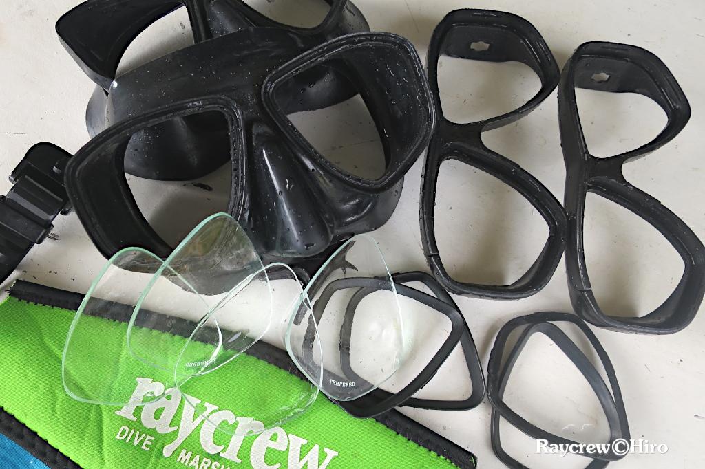 水中マスクの曇りを簡単に除去する方法