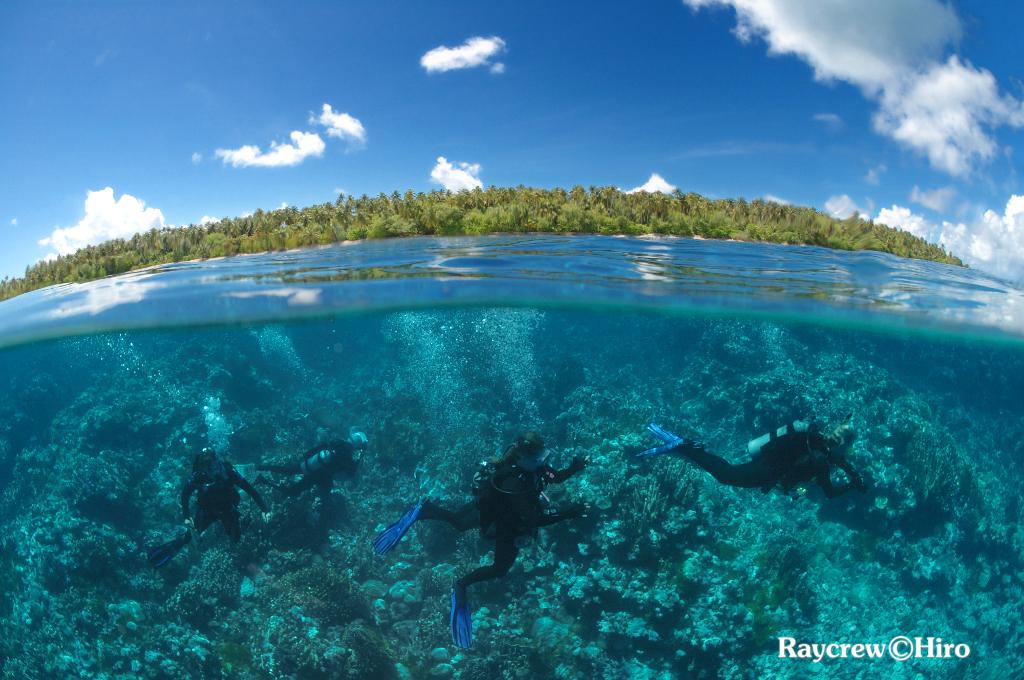 マーシャル諸島アルノ環礁