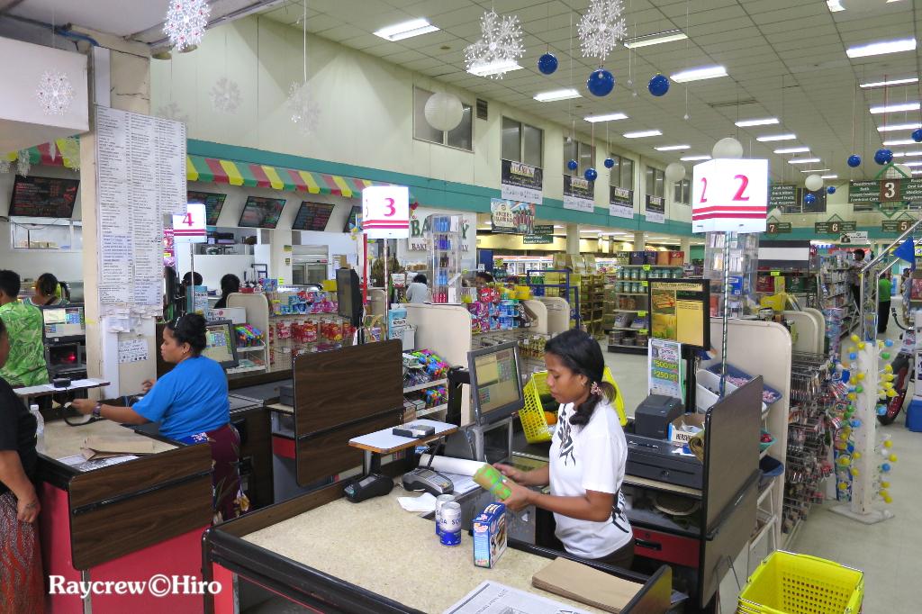マーシャル諸島最大のスーパーマーケット