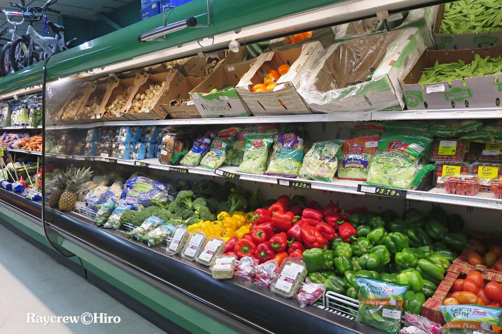 野菜も豊富!たまに空っぽ・・・