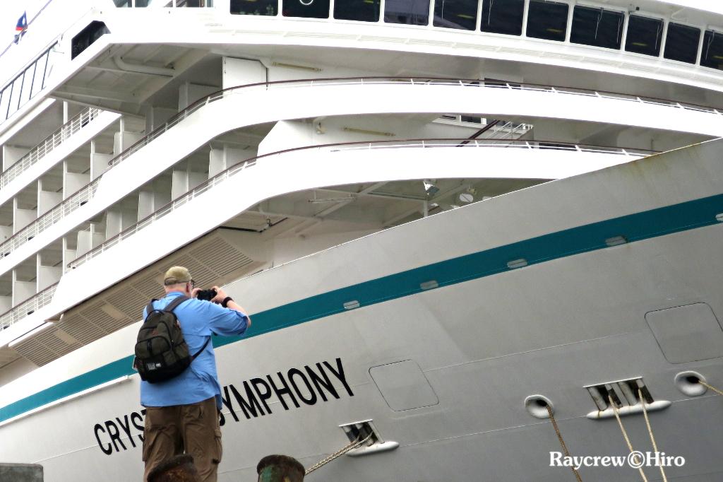 大型クルーズ船「クリスタル・シンフォニー」