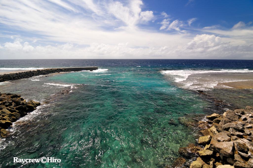 マジュロ環礁で釣りをやってはいけない場所