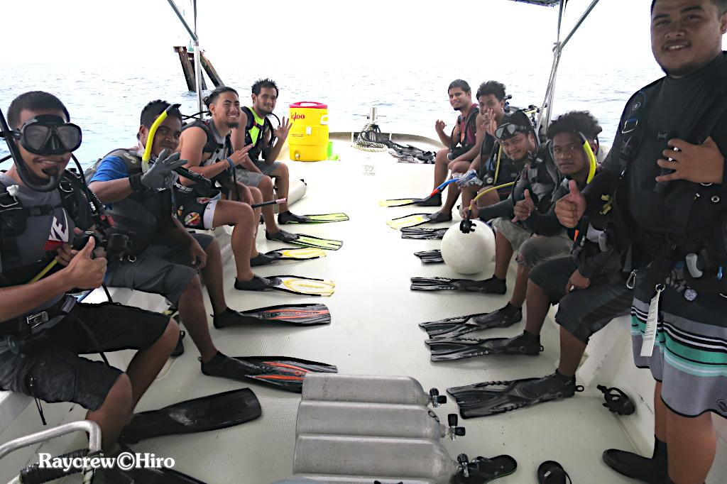 マーシャル諸島短期大学ダイビングクラス/AOWコースDay-2