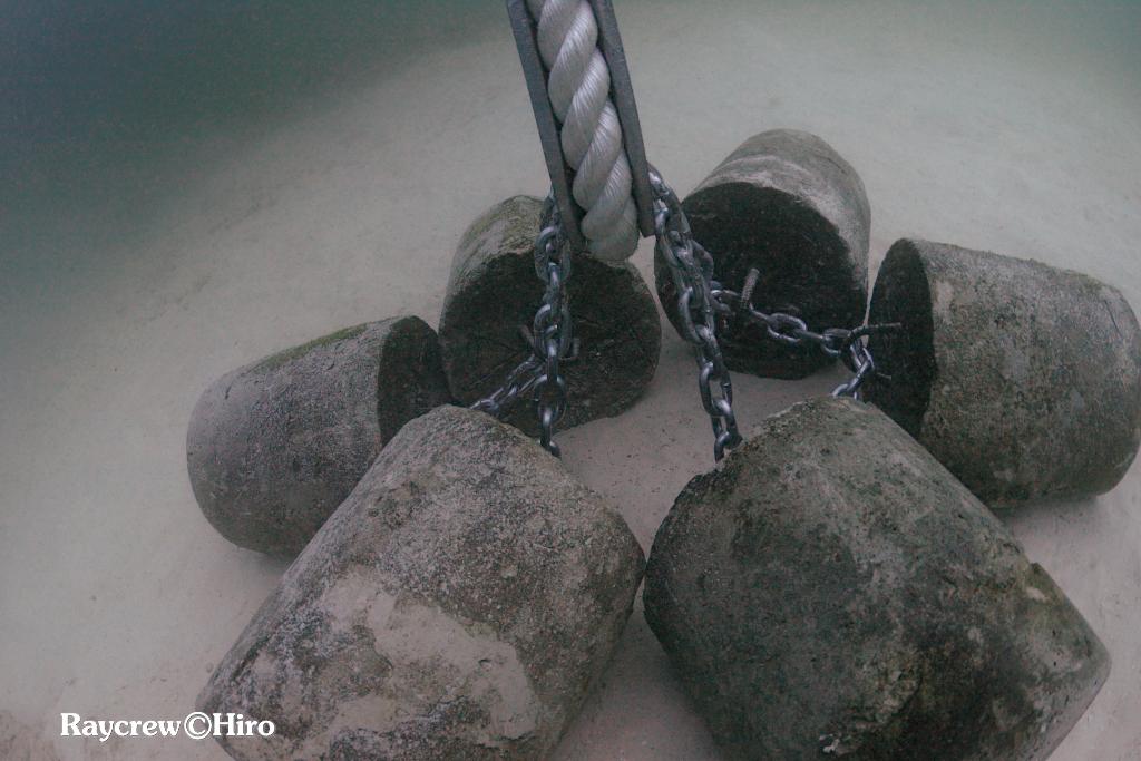 マジュロ環礁の洋上養殖ケージ新設置水中作業【Day2&3】