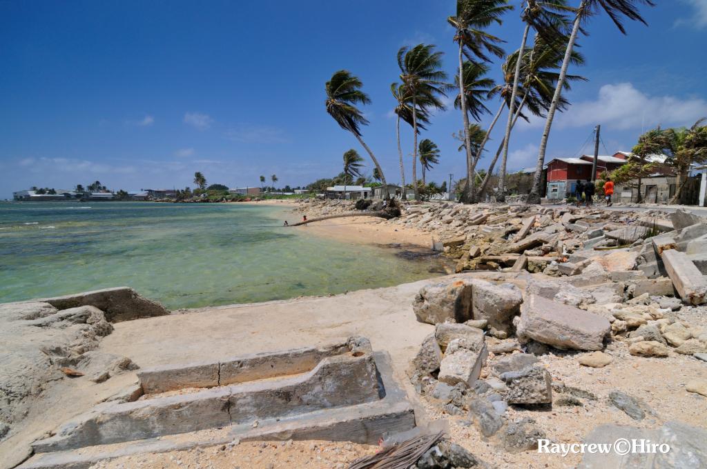 強風がもたらすマジュロ環礁の現状【マーシャル諸島を襲う高波】