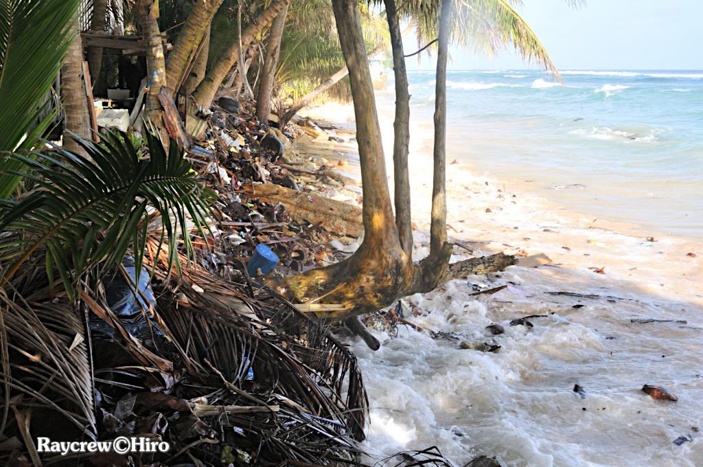 強風がもたらすマジュロ環礁の現状【マーシャル諸島を襲う波】